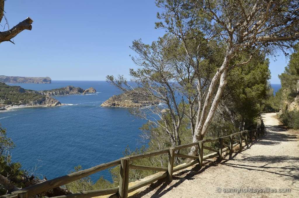 Breathtaking scenic view along the Cap Negre