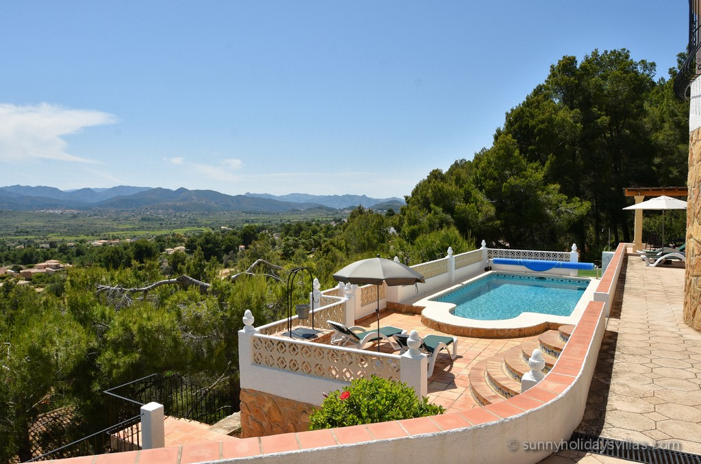 Villa Javea Ferienhaus Vacation Home Vista Bild 05