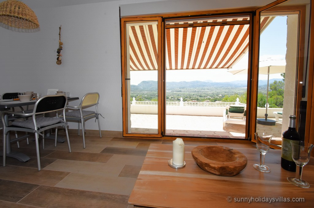 Villa Javea Ferienhaus Vacation Home Vista Bild 06